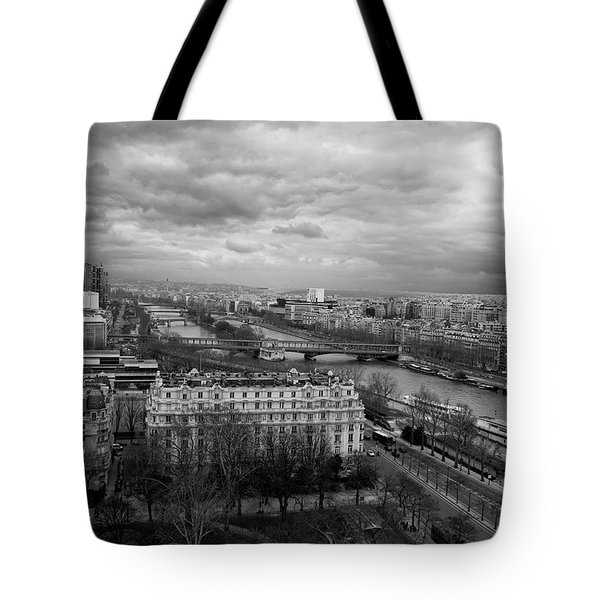View From The Eiffel Tower Tote Bag