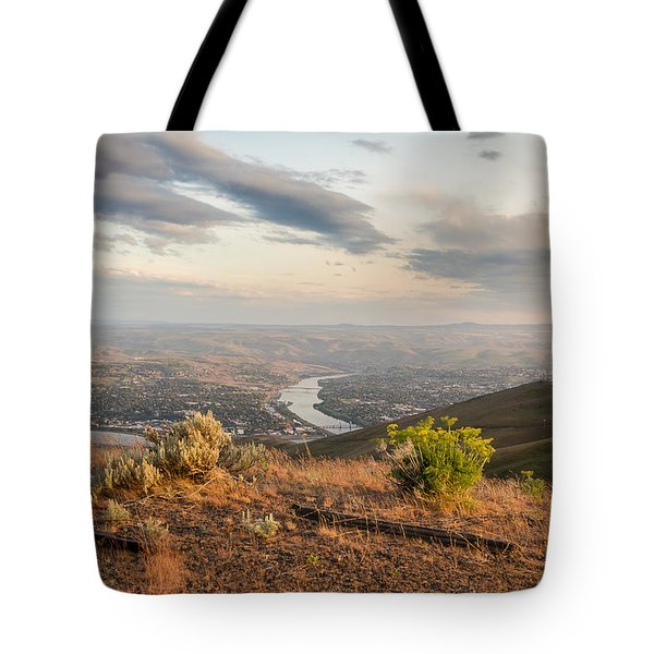 View From The Hill Tote Bag by Brad Stinson