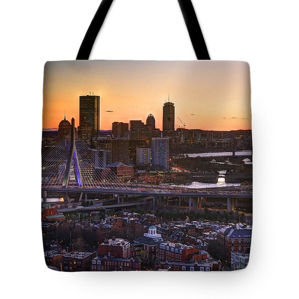 View From The Monument 015 Tote Bag