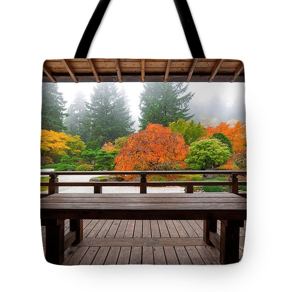 View From The Pavilion Tote Bag