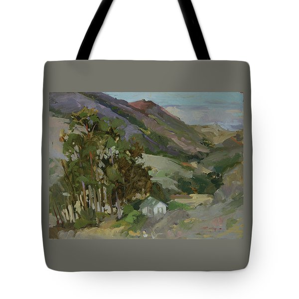 View From The Reservoir - Catalina Island Tote Bag