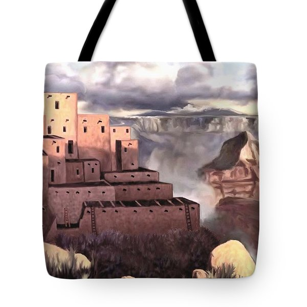 View From The Rim Tote Bag