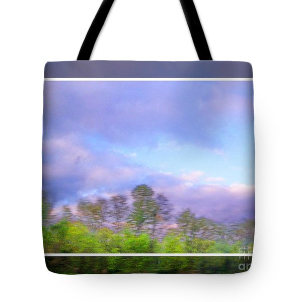 View From The Road 1 Tote Bag by Shirley Moravec