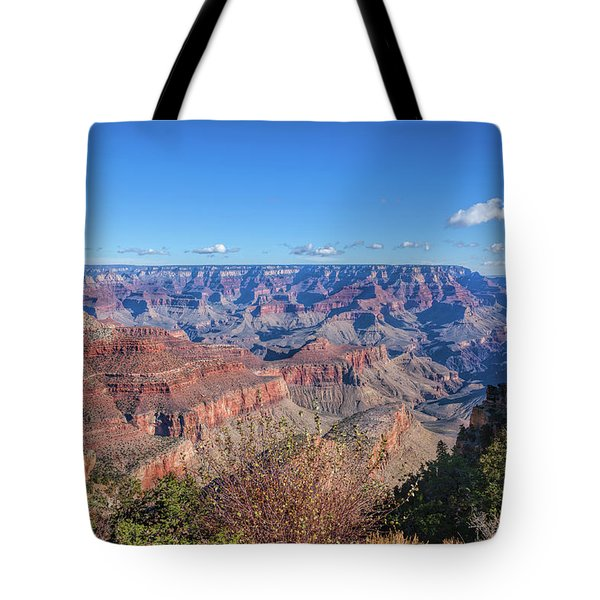 Tote Bag featuring the photograph View From The South Rim by John M Bailey
