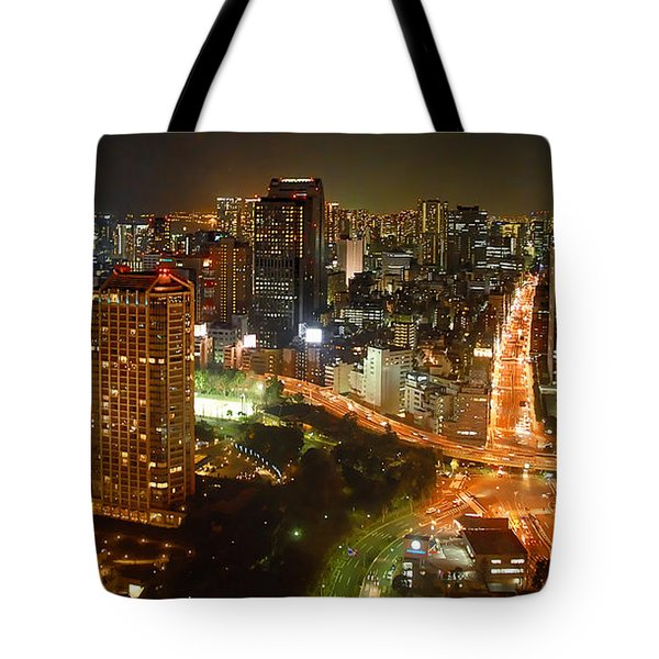 View From Tokyo Tower Tote Bag