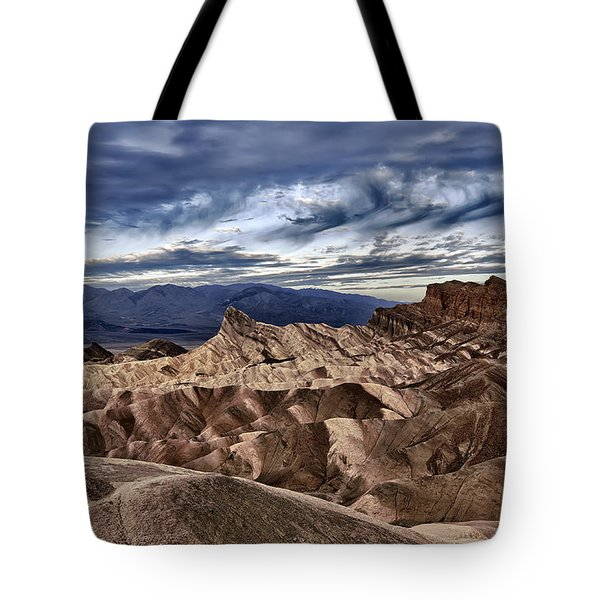 View From Zabriskie Point  Tote Bag