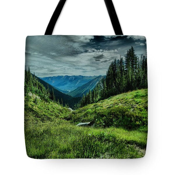 View Into The Valley Tote Bag