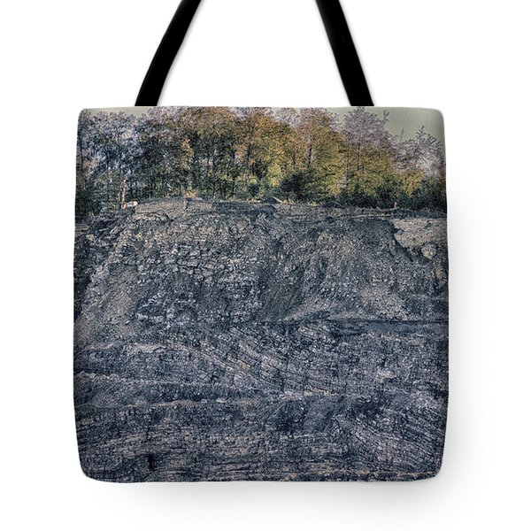 View Of A Quarry Tote Bag