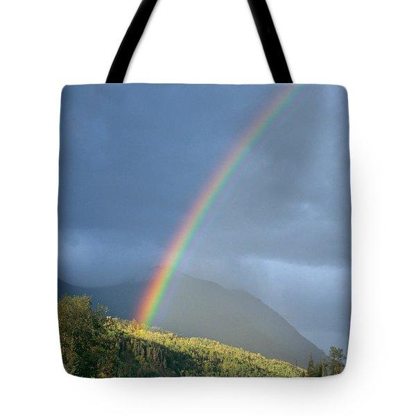 View Of Alaska Tote Bag by Gloria & Richard Maschmeyer - Printscapes