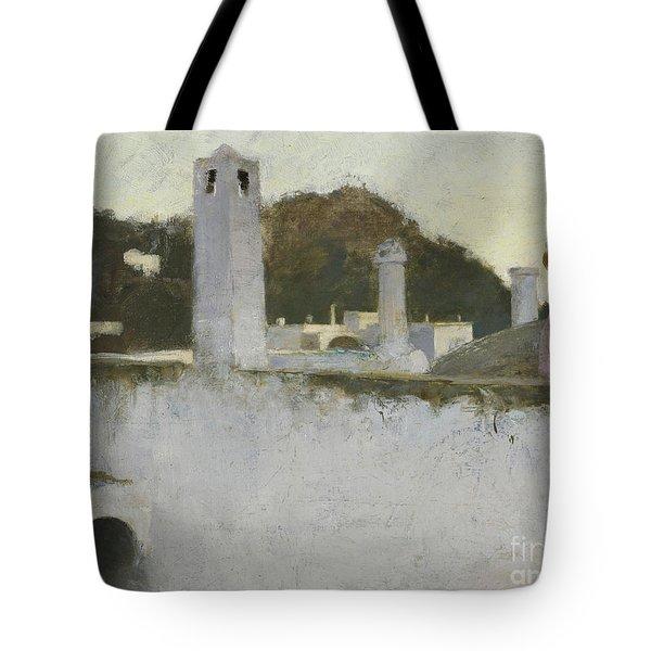 View Of Capri, 1878 Tote Bag