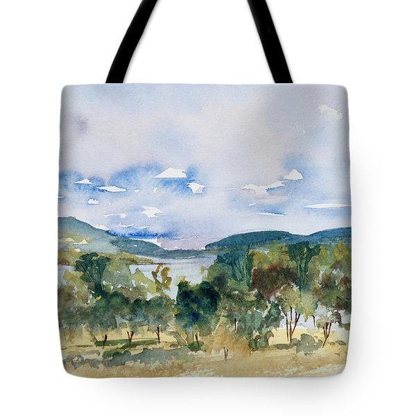 View Of D'entrecasteaux Channel From Birchs Bay, Tasmania Tote Bag