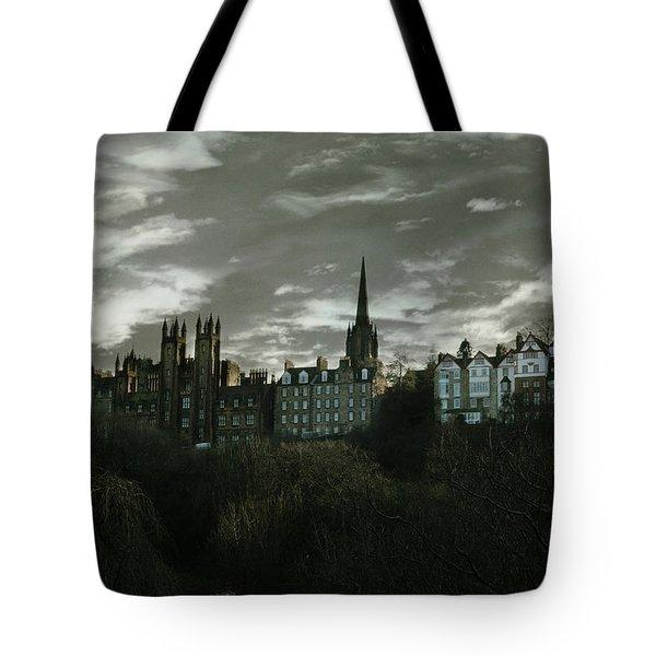 view of Edinburgh II Tote Bag