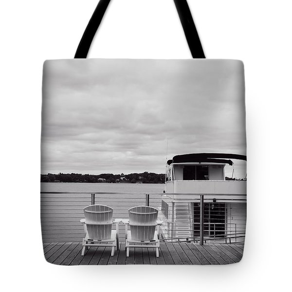 View Of Lake Minnetonka Tote Bag