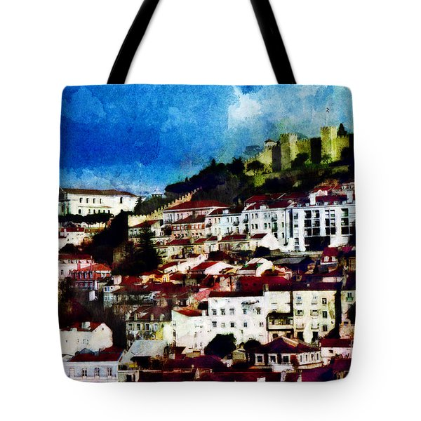 View Of Lisbon Tote Bag