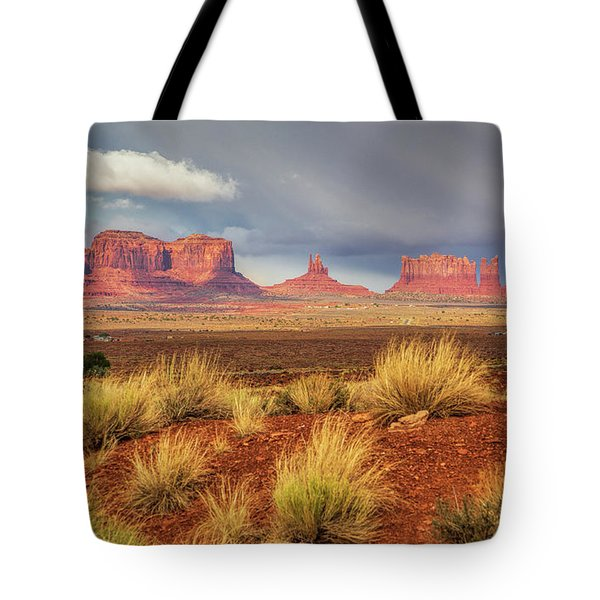 View Of Monument Valley Tote Bag