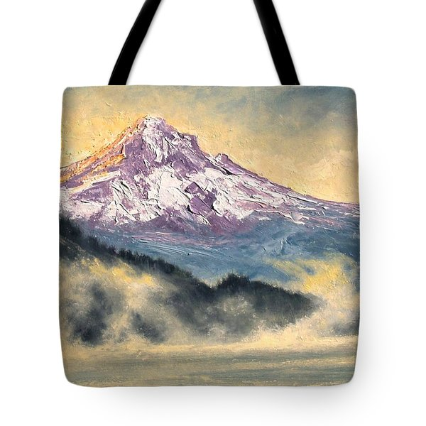 View Of Mt Hood Tote Bag