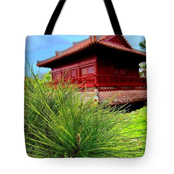 View Of Murasaki Mura, Okinawa. Tote Bag