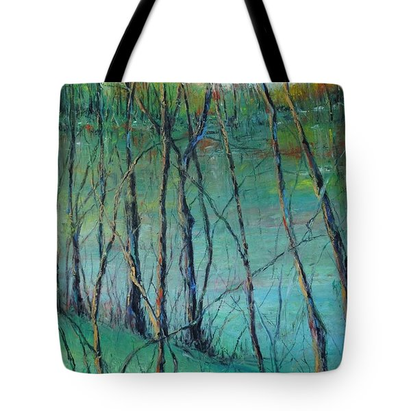 View Of Nature's Canvas Tote Bag