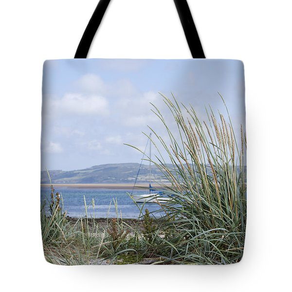 View Of North Wales Tote Bag by Gillian Dernie