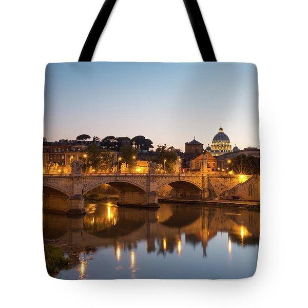 View Of Rome Tote Bag