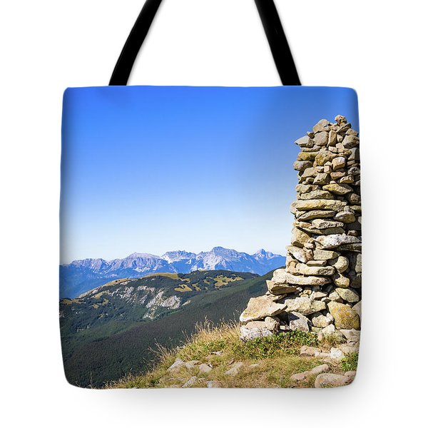 View Of The Apuan Alps Tote Bag
