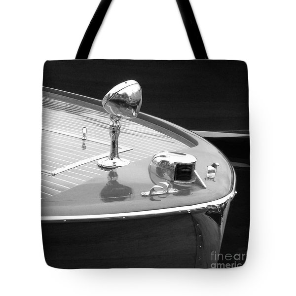 View Of The Bow Tote Bag
