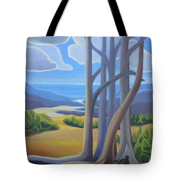View Of The Lake Tote Bag