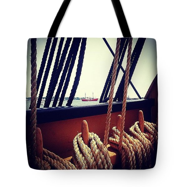 Historic View Of Modern Wonders Tote Bag