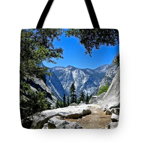 View Of The Sphinx Tote Bag by Amelia Racca