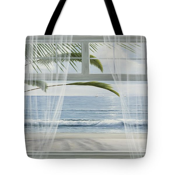 View Of The Tropics Tote Bag