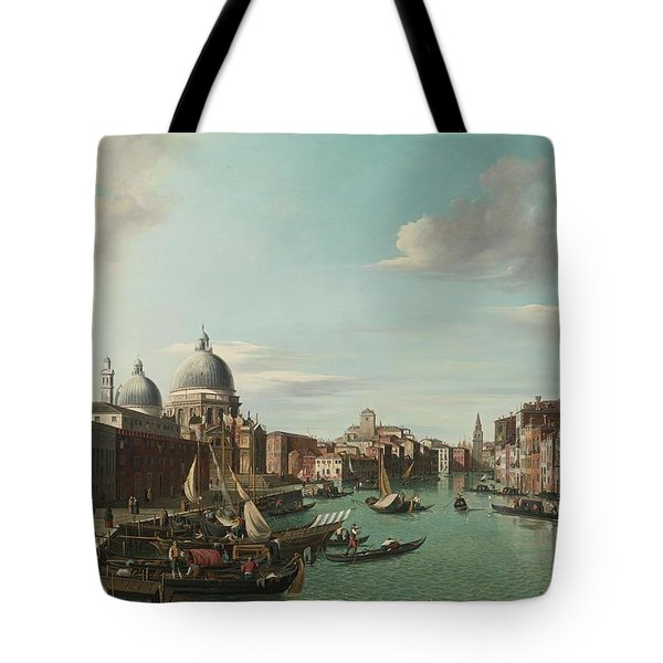 View Of Tivoli From A Grotto Tote Bag