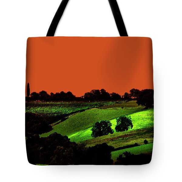View Of Tuscany Tote Bag