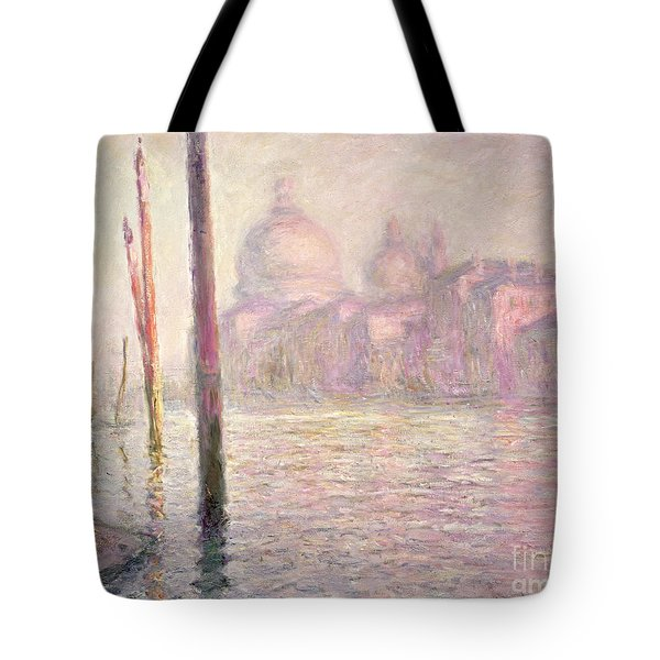 View Of Venice Tote Bag by Claude Monet