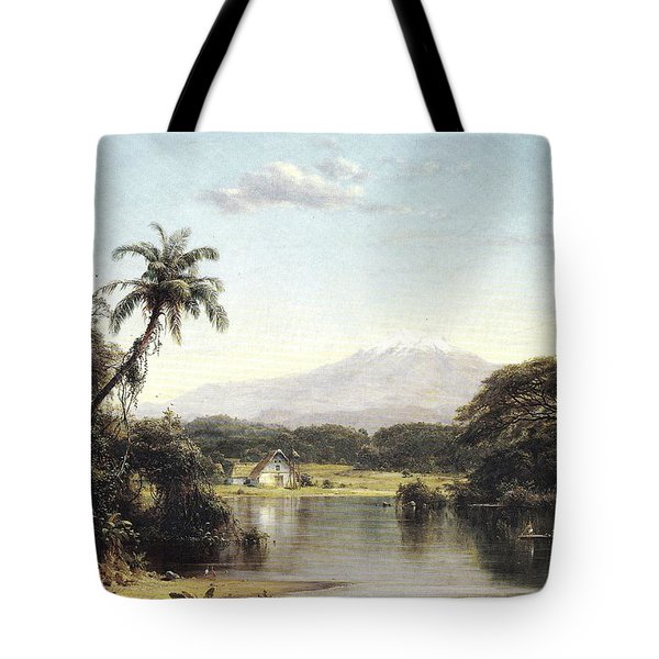 View On The Magdalena River Tote Bag
