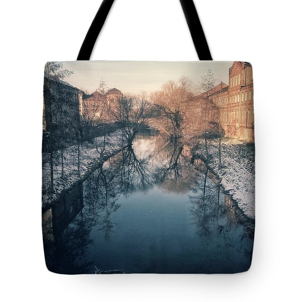 View Onto The River  Tote Bag