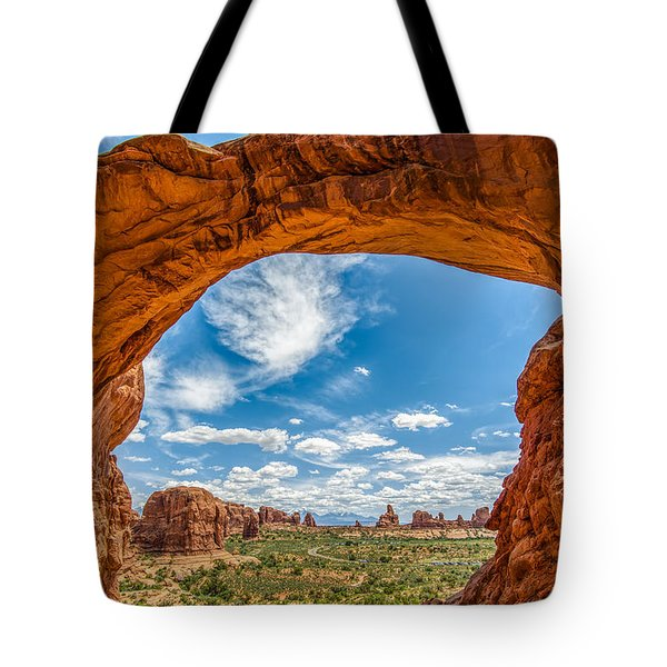 View Through Double Arch Tote Bag