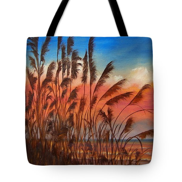 View Thru Seaoats Sold Tote Bag