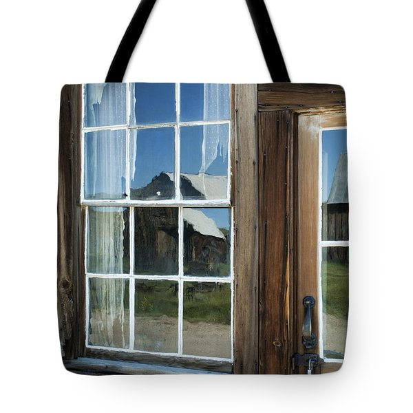 View To A Different Time Tote Bag by Sandra Bronstein