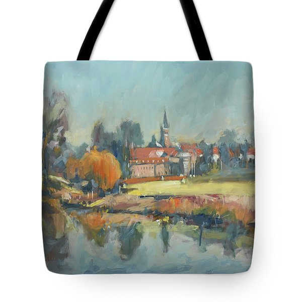 View To Elsloo Tote Bag