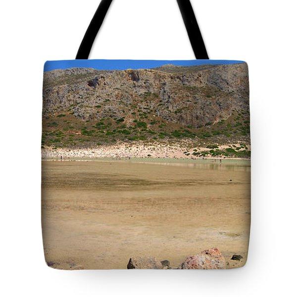 View To Gramvousa Tote Bag