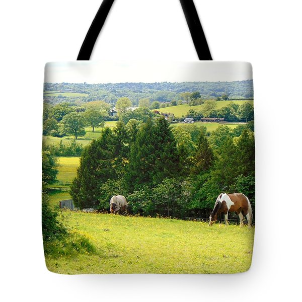 View To Kill For Tote Bag by Linda Corby