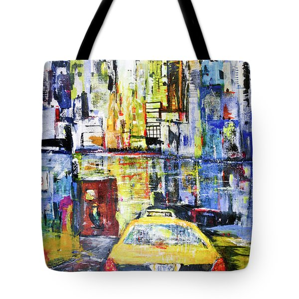 View To Manhattan Tote Bag