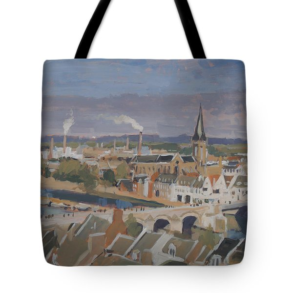 View To The East Bank Of Maastricht Tote Bag