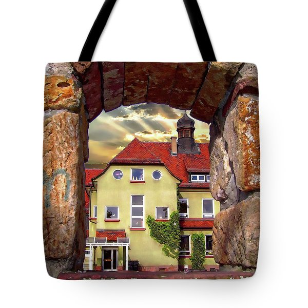 View To The Past Tote Bag