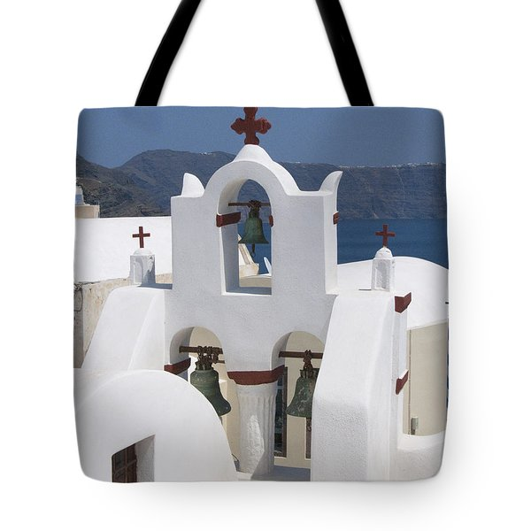 View To The Sea Tote Bag by Sandra Bronstein