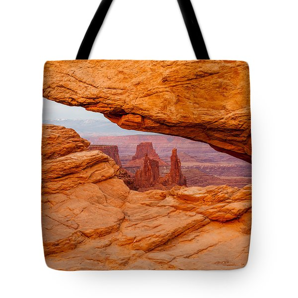 View To The  Washerwoman Tote Bag