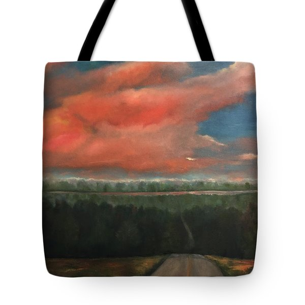 View To Yell County Tote Bag
