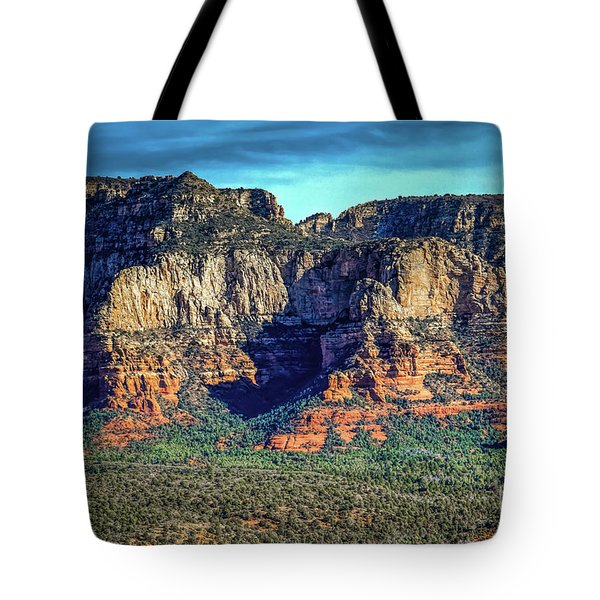 View Toward Lee Mountain Tote Bag by Jon Burch Photography