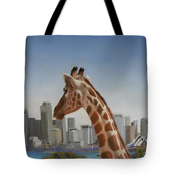 View Towards Sydney Tote Bag by Louise Green