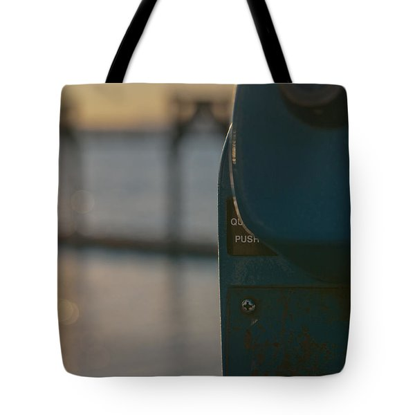 Tote Bag featuring the photograph Viewfinder by Erin Kohlenberg